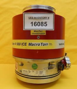 Turbo v 550 Ice Varian 9699078 Turbomolecular Pump Tv 550 Turbo Tested Working