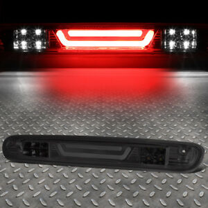 3d Led Bar For 07 13 Silverado Sierra 3rd Tail Brake Light W Cargo Lamp Smoked