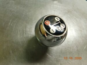 Nos Amco Blem Vintage 3 Speed Shift Knob Ball Shifter 10x1 5 Threads Foreign Car