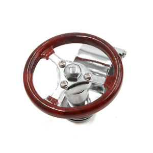 Auto Car Steering Wheel Knob Spinner Handle Power Turning Ball Parts Brown