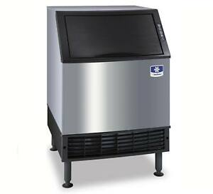 Manitowoc Uyf 0190a 193lb Neo Series Undercounter Half Dice Ice Machine Air