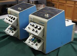 Lot Of Two Medtronic Bio medicus 540 Bio console Centrifugal Blood Pumps Al