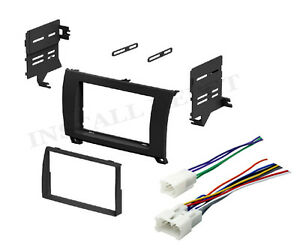 Complete Radio Stereo Dash Kit W Wire Harness Install For 2007 2011 Toyota Truck