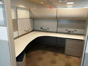 Used Office Cubicles Herman Miller Ethospace 8x8 Cubicles