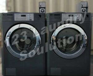 Lg Coin Opreated Front Load Washing Machine 22lbs Capacity Gcwp1069qs2 Used
