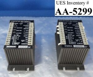 Rorze Rd 323 M10 2p Micro Step Driver Lot Of 2 Used Working