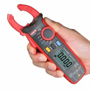 Ut210d Digital Lcd Clamp Meter Ac dc Voltage Amp Multimeter Temp Tester Ammeter