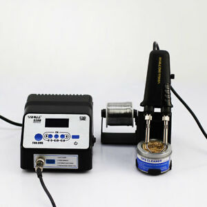 938d Esd Smd Electric Rework Soldering Station Iron Tweezer Welding With Holder