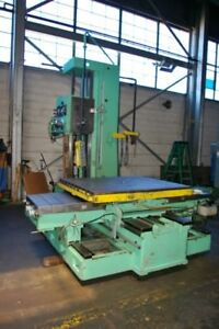 4 3 8 Supermill J mdr 110 Table Type Horizontal Boring Mill 48 X 60 Table