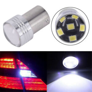 Projector New Led P21w Canbus Bulbs Signal White Car 4pcs Light 1156 Lamp Ba15s