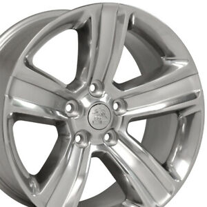Oew 20 Rims Fit Dodge Ram 1500 Durango Dakota Aspen Polished W Silver 2453
