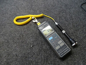 Omega Engineering Hh 82 Digital Thermometer With Tyke K Probe