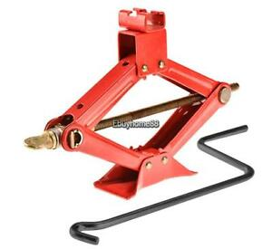 Portable Car Scissor Jack High Lift Heavy Duty Superior Steel Lightweight 1 5ton
