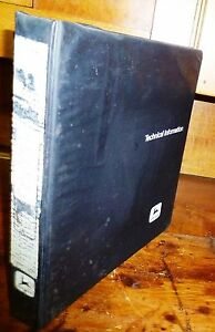 John Deere 675 Skid Steer Loader Technical Manual W binder