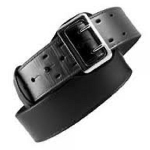 Boston Leather 6501 1 36b Lined 2 25 Sam Browne Duty Belt Plain Black 36 brass