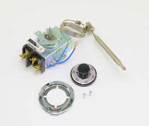 Robertshaw 5000 844 Commercial Electric Thermostat Kit 200 400f 36 Capillary