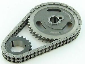 Sb Ford 302 351w Late Sa Gear 250 Double Roller Timing Chain 3 Keyway