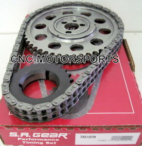 Bbc Bb Chevy 396 427 454 Race Roller Billet Timing Chain Kit 3 Keyway W thrust