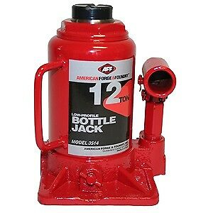 American Forge Foundry 3514 12 Ton Low Profile Bottle Jack L 7 H 13