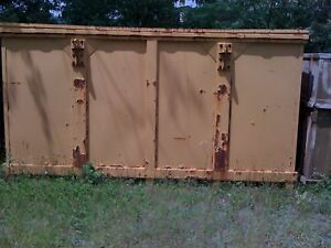 Steel Storage Container With Cover 146 X 73 X 78