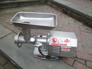 Fleetwood M 12 h Commercial Meat Grinder Made In Italy 1hp 115v