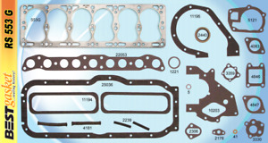 New 1948 1955 Willys Jeep L Head 6 148 161 Full Complete Engine Gasket Set