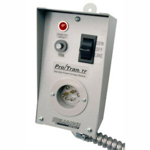 Reliance Controls Tf151w Easy tran Tf Transfer Switch With 18 Aluminum Conduit