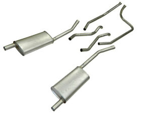 1953 1955 Corvette Exhaust System 6 Cylinder Aluminized With Mufflers