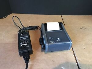 Epson Tm p60 Bluetooth Portable Pos Thermal Printer Wireless W Power