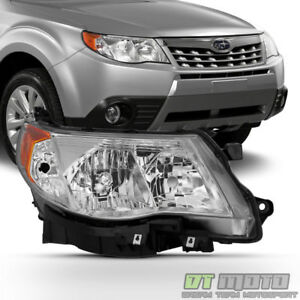 2009 2013 Subaru Forester Headlight Halogen Headlamp Replacement Passenger Side