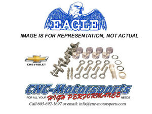 Sb Chevy 383 Rotating Assembly Mahle 10 5 1 Pistons Eagle 5 7 Rods 10008