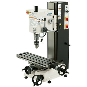 Shop Fox M1110 Variable Speed 6 inch By 21 inch Dovetail Mill drill