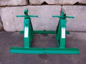 Greenlee 683 Pipe Stands For Cable Wire Tugger Puller New Condition