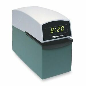 Acroprint Heavy Duty Time Stampsetc dig Display 01 6000 001 Time Stampsetc