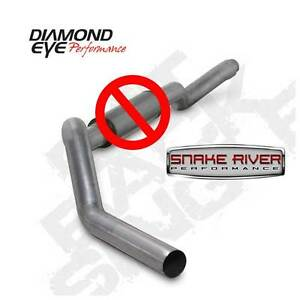 Diamond Eye 5 Stainless Exhaust 06 07 Chevy Gmc Duramax 6 6 No Muffler Cat Back