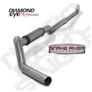 Diamond Eye 5 Stainless Steel Exhaust 01 07 Chevy Gmc Duramax Diesel K5118s