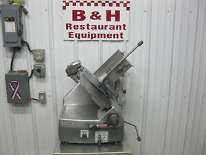 Hobart 2712 Heavy Duty Automatic 12 Food Meat Cheese Deli Slicer