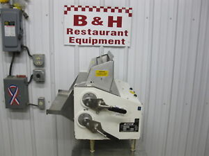 Anets Double Pass Bench Top Heavy Duty Pizza Dough Roller Sheeter Sdr 42