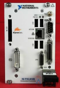 National Instruments Pxi 8105 Dual core Embedded Controller For Pxi
