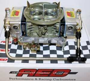 Holley 750 Double Pumper Carburetor By Aed With Fuel Line Kit
