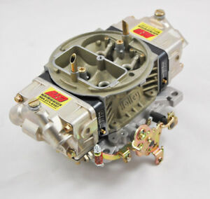 Aed 850 Ho Double Pumper Holley Carburetor Black Billet Metering Blocks