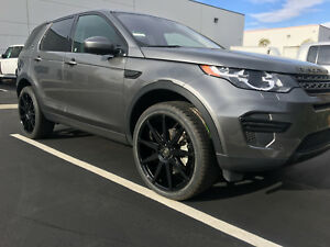 22 Gloss Black Wheels Rims Tires For Jaguar F Pace Lr Evoque Velar Discsport