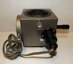 Olympus Do 1 25x Microscope Dual Observation Attachment For Bh Ch Free Shipping