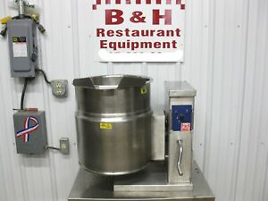 Cleveland 12 Gallon Steam Jacket Stainless Steel Tilt Soup Kettle Ket 12 t 48 Qt