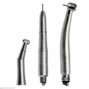 Dental Contra Angle Low Speed Kit Inner Spray Fit Kavo With Led Handpiece C nuu