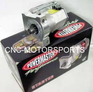 9509 Powermaster Mini Starter 200 Ft Lb Chevy Truck With Ls Engine 4 8l 5 3l 6 0