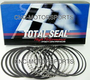 Total Seal Gapless 2nd Piston Rings T9190 5 1 16 1 16 3 16 4 250 Bore File Fit
