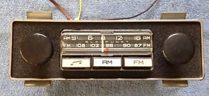 Vintage Blaupunkt Am Fm Radio Montreal S A1914237 Porsche Bmw Vw Works Great