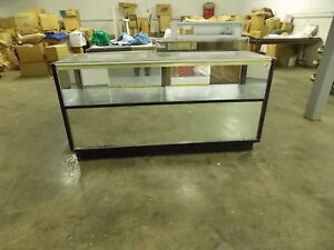 Display Case Store Black