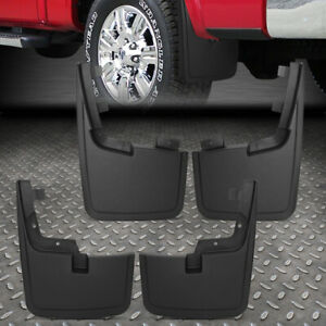For 15 18 Ford F150 W O Oe Wheel Lip Moulding Heavy Duty Mud Guard Splash Flaps